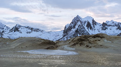 Dunes and Mountains (Jesse Maack) Tags: norway north lofoten travel adventure sony a6000 life happy cold