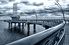 Walk into the Future (emesphoto) Tags: burlington canada ontario lake water sky future scifi emesphoto nikon surreal