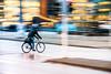 Panning/Panorering (Maria Eklind) Tags: fs180121 light traffic bike sweden city malmö fotosondag panorering cykel panning skånelän sverige se blur road street