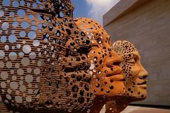 Stream of Consciousness Masks (JossieK) Tags: masks art sculptures antonsmit streamofconsciousness southafrica
