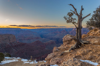 Moran Point in sunset