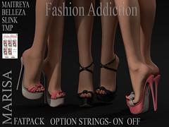 MARISA SHOES (Owner Fashion Addiction) Tags: shoes scarpe boots belleza maitreya slink tmp physique hourglass isis venus freya secondlife fashionaddiction
