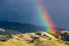 Rainbow Hills (Omnitrigger) Tags: rainbow california spectrum dispersion droplets meteorology refraction exploringnature nature clouds