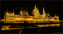 Gorgeous (Cezar Nitulescu) Tags: boat river water light yellow architecture budapest grouptripod
