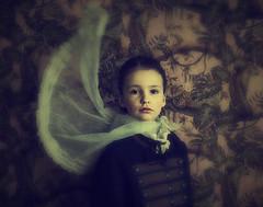 Emily (Maren Klemp) Tags: fineartphotography fineart fineartphotographer color girl child portrait vintage darkart dreamy painterly evocative conceptual veil longexposure surreal series