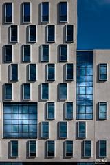 Le_Havre_0917-567 (Mich.Ka) Tags: carré cloud façade fenêtre geometric graphic graphique géométrique hotel lehavre mur nuage rectangle reflection reflet square town urbain urban ville vitre wall window