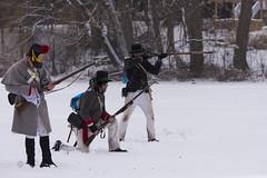 DUV_8171r (crobart) Tags: war 1812 reenactment group reenactors muskets firing richmond hill winter carnival mill pond