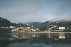 Morning breathing (RuiFAFerreira) Tags: beauty blue green river village town douro landscape waterscape wide water houses morning canon exterior light mood portugal