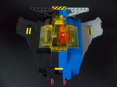 Gemini Unification (SaurianSpacer) Tags: lego moc blacktron neoclassicspace spaceship spacefighter