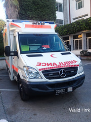 Ambulance Croissant rouge (Wylde Hrrrk) Tags: ambulance sprinter mercedesssprinter cdi ambulancemercedes croisssantrouge emergencyvehicles emergencyservice 19 ambulancemorocco