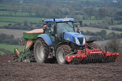 New Holland T7030 Tractor with a Twose Front Press, an Amazone AD-P Super 2000 Seed Drill & Power Harrow (Shane Casey CK25) Tags: new holland t7030 tractor twose front press amazone adp super 2000 seed drill power harrow cnh nh blue newholland winter barley sow sowing set setting drilling tillage till tilling plant planting crop crops cereal cereals county cork ireland irish farm farmer farming agri agriculture contractor field ground soil dirt earth dust work working horse horsepower hp pull pulling machine machinery grow growing nikon d7200 traktori traktor trekker tracteur trator ciągnik