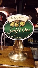 Bowman Ales Ltd - Swift One (DarloRich2009) Tags: bowmanalesltd swiftone bowmanalesswiftone bowmanales beer ale camra campaignforrealale realale bitter handpull brewery
