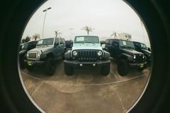 jeep (ZSnapsFilm) Tags: lomography lomo fisheye 2 kodak gold 200 canon ftb