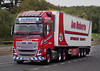 Ian Roberts Volvo FH SH03RAB on the A90, Dundee, Sep 2017 (andyflyer) Tags: ianroberts volvofh sh03rab lorry truck hgv transport roadtransport haulage