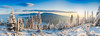 Inversed Clouds Underneath Beskydy Mountains (Lu_Kr) Tags: beskydy kněhyně smrk lysá hora d700 landscape sunrise panorama ultra wide 1835g nikkor nikon