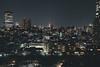 Meguro at night (Jan Senderek) Tags: tokyo sony sonyalpha sonya7r wide angle lens dark night city skyline lights buildings winter japan street cars longexposure