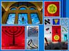 Sinagoga Centrale di Milano. (robertorolla) Tags: sinagoga milan vetrata ebraismo