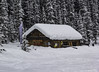 Winter Cabin (begineerphotos) Tags: lakelouise winter snow cabin shed banffnationalpark challengegamewinner winnerschallenge