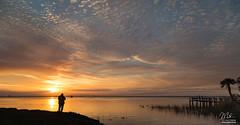 #Sunset over Lake Washington in Three Acts (Michael Seeley) Tags: canon fl florida lake lakewashington landscape melbourne mikeseeley shoreline spacecoast sunset