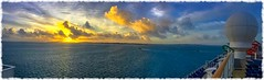 Nothing Better to Start the Morning Right Than a Sunrise over Bermuda as Your Arriving (Thanks for over 2 million views!!) Tags: chadsparkesphotography clouds sky sunlight sunrise scenic water atlanticocean cruiseship cruise norwegiancruiseline norwegiangetaway panaramic panoramic panaroma pano iphonecamera iphonese bermuda