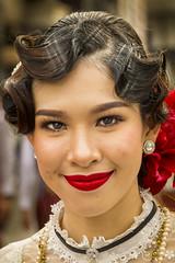 Thai Girl (♥siebe ©) Tags: 2018 chiangmai flowerfestival siebebaardafotografie thai thailand festival flowers girl portrait portret wwwsiebebaardafotografienl