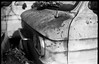 old rusted van, Billy's Corvair junkyard, forest, Black Mountain, NC, FED 4, Industar 26, Ilford FP4+, Moersch Eco Film Developer, November 2017 (steve aimone) Tags: corvair van vans rusted junkyard woodland forest blackmountain northcarolina fed4 industar26 ilfordfp4 moerschecofilmdeveloper rangefinder 35mm film blackandwhite monochrome monochromatic