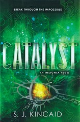 Catalyst (Vernon Barford School Library) Tags: sjkincaid s j kincaid insignia three 3 sciencefiction science fiction conductoflife videogames games virtualreality war computergames gaming youngadult youngadultfiction ya vernon barford library libraries new recent book books read reading reads junior high middle school vernonbarford fictional novel novels hardcover hard cover hardcovers covers bookcover bookcovers 9780062093059