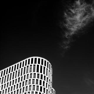 Wintersky in Berlin