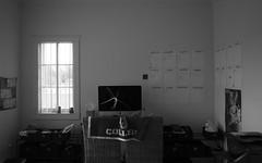 365, Day 264 (clarissa___t) Tags: bw black white 365 stilllife photographer workspace office apple