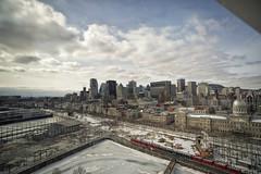 Montreal City View (Ciel-Bleu) Tags: lanscape skyline city urban sky det details montreal canada river