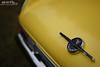 Valiant in Yellow (Hi-Fi Fotos) Tags: plymouth valiant trunk badge emblem logo yellow vintage american classiccar detail bokeh nikkor 50mm 14 nikon d7200 dx hififotos hallewell