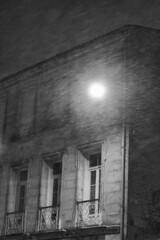 Déluge de neige (EloE64) Tags: neige ville charentemaritime nb noir et blanc snow blackwhite black white nikon d60
