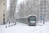 Tempête de neige à Montpellier (Marc ALMECIJA) Tags: tram montpellier neige snow urban urbain ville town rail railway blanc white intempéries