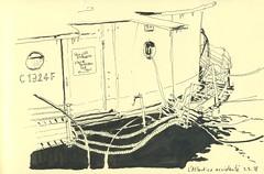 L'Atlantico accidenté - Strasbourg (lolo wagner) Tags: sketch croquis rendezvous alsace strasbourg usk urbansketchers