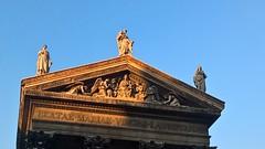 Et la lumière fut (Serendipity-manatee) Tags: church église paris france light sky ciel monument sculpture blue lumière smartphone digital
