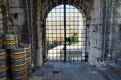 enguirlandée, grillagée et fermée (8pl) Tags: guirlande grille grillage porte escaliers tonneaux mur fer ancienneporte porteancienne fûts trsat château rijeka tourisme croatie