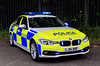 LJ16BBE (firepicx) Tags: northumbria police traffic car roads policing unit rpu blue lights emergency siren 999 uk british photo northumberland newcastle houghton alnwick firepicx lj16bbe