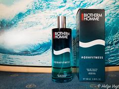 Biotherm - Aquafitness (Laterna Magica Bavariae) Tags: biotherm aquafitness eau de toilette revitalisante produktfotografie flakon fragrance duft parfum parfüm product photograph edt edp