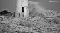 CO1A6352 (chris fearnehough) Tags: lighthouse storm stormchaser wirral newbrighton perchrock waves