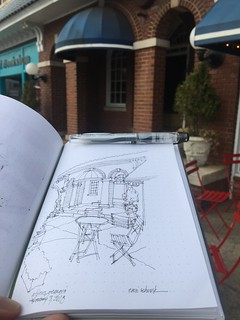 15 minute sketch in Athens GA