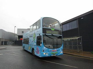 Stagecoach Hull (loan from Grimsby) 16965 YJ04FZF 'Splash' Hull Interchange on Interchange Anniversary shuttle (1) (1280x960)