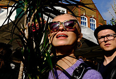 Purple Sun (Becky Frances) Tags: beckyfrances colourstreetphotography city candid colour canpubphoto columbiaroad england eastlondon fujifilm fujix hackney london market streetphotography socialdocumentary urban uk 2017