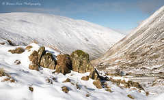 Mountain View (.Brian Kerr Photography.) Tags: scotland scottishlandscapes scottish scotspirit scottishborders scottishlandscape landscapephotography landscape photography photo outdoor outdoorphotography opoty nature naturallandscape natural briankerrphotography briankerrphoto moffathills mountains mountain view barn tree shadows rocks winter weather snow coldmorning formatthitech firecrest availablelight a7rii mountainside sky