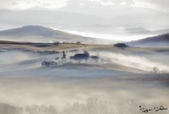 Magia della nebbia in val d'Orcia_2 (signori.stefano) Tags: sunrise valdorcia toscana alba nebbie landscape paesaggio
