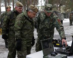 Visita al contingente desplegado en #Letonia en la misión NATO #eFP (Ejército de Tierra) Tags: visita al contingente desplegado en letonia la misión nato efp
