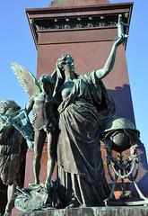 Alexander II monument, Senate Square (JohntheFinn) Tags: kesä summer helsinki suomi finland europe eurooppa senaatintori senatesquare aleksanteriii alexanderii tsar czar tsaari statue sculpture veistos patsas walterruneberg carlludvigengel