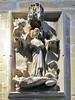Lauda sepulcral de una Infanta siglo XIV en puerta de acceso a la escalera del sobreclaustro Catedral de Santa Maria La Real Pamplona (Rafael Gomez - http://micamara.es) Tags: lauda sepulcral de una infanta siglo xiv en puerta acceso la escalera del sobreclaustro catedral santa maria real pamplona