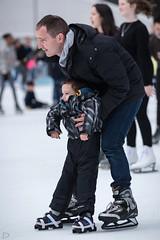 The Ice Rink at The Winter Village in Bryant Park (dansshots) Tags: bryantpark bryantparkicerink wintervillageatbryantpark wintervillage iceskating iceskatingrink icerink midtown midtownnewyork dansshots nikon nikond750 70200mm