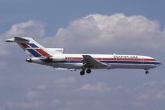 HI-617CA MIA 7-3-1993 (Plane Buddy) Tags: hi617ca boeing 727 200 281 dominicana miami mia