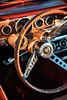 1966 Ford Mustang Convertible - Shot 6 (Dejan Marinkovic Photography) Tags: 1966 ford mustang convertible american classic car interior detail steeringwheel